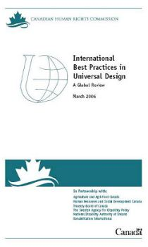 The front cover of the International Best Practices in Universal Design: A Global Review.